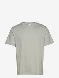 M. Single Jersey Tee - basic t-shirts - green fog