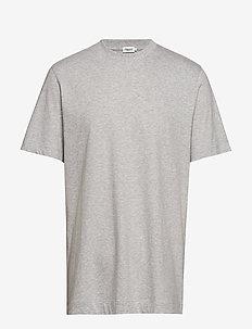 M. Single Jersey Tee - t-shirts basiques - light grey