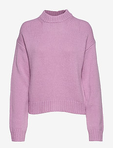 Cora Sweater - MID PINK S