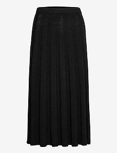 Ruby Knitted Skirt - spódnice do kolan i midi - black