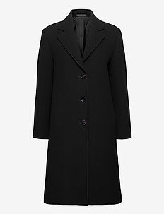 Barnsbury Coat - ullkåper - black