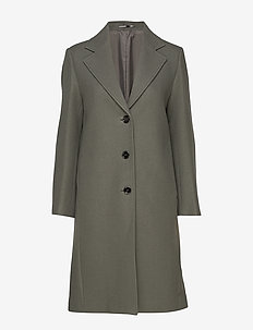 Barnsbury Coat - wool coats - dark miner