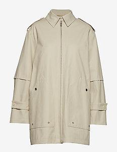 Tribeca Coat - manteaux legères - ivory