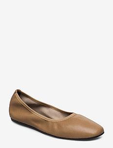 Rey Flat - ballerinas - almond bro
