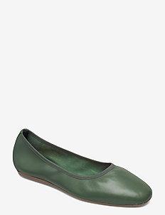 Rey Flat - sko - green emer