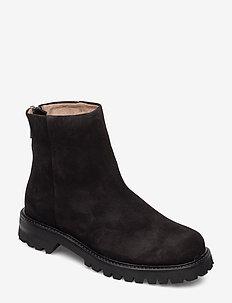 Jessica Zip Boot - BLACK