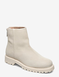 Jessica Zip Boot - IVORY