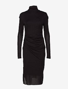 Celia Dress - CHARCOAL M