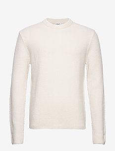 M. Tobias Sweater - tricots basiques - almond whi