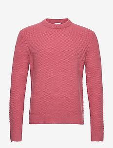 M. Tobias Sweater - basic gebreide truien - pink cedar