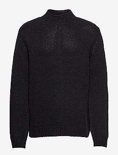 M. Tate Turtleneck Sweater - BLACK