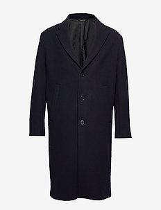 M. Lyon Wool Coat - DK. NAVY