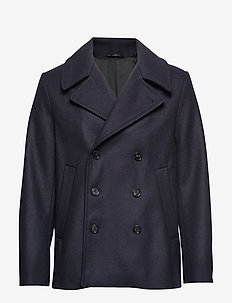 M. Hague Pea Coat - BLUE BLACK