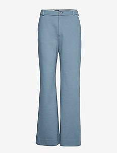 Ivy Jersey Trouser - BLUE GREY
