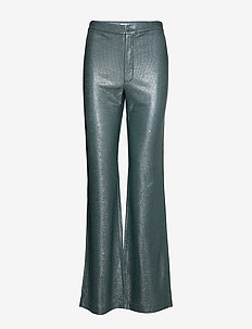 Nyx Lurex Trouser - BLUE GREY/