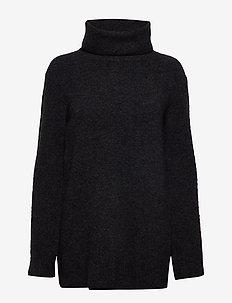 Nico Yak Sweater - golfy - charcoal m