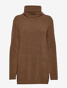 Nico Yak Sweater - HAZELNUT