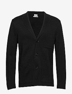 M. Saul Knit Blazer - basic strik - black