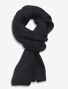 M. Knitted Scarf - sjaals - navy