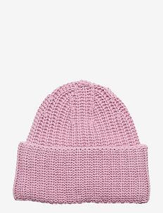 Corinne Hat - luer - mid pink s