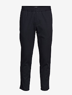 M. Terry Cotton Trouser - DK. NAVY