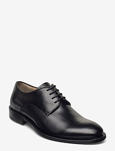 M. Neil Dress Shoe - patent leather shoes - black leat