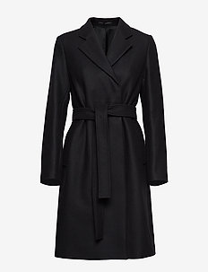 Eden Coat - BLACK