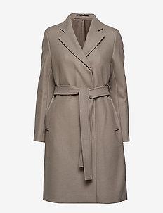 Eden Coat - TAUPE