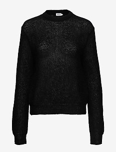 Heather Sweater - truien - black