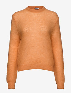 Heather Sweater - trøjer - pale orang