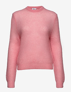 Heather Sweater - trøjer - taffy pink