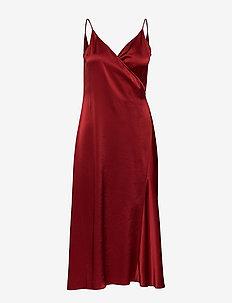 Callie Dress - midi kjoler - pure red