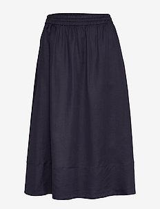 Juliet Skirt - midinederdele - deep blue