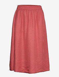 Juliet Skirt - midi rokken - pink cedar
