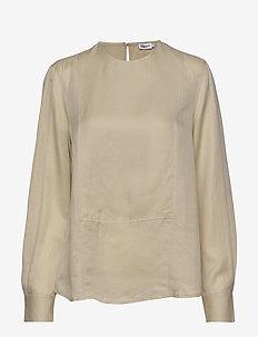 Fen Blouse - blouses med lange mouwen - ecru