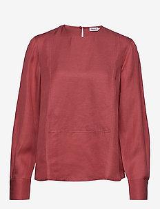Fen Blouse - blouses med lange mouwen - pink cedar