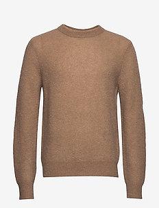 M. Julian Sweater - basic gebreide truien - dark khaki