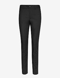 Millie Trouser - bukser med lige ben - black