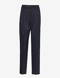 Julie Trouser - bukser med brede ben - deep blue