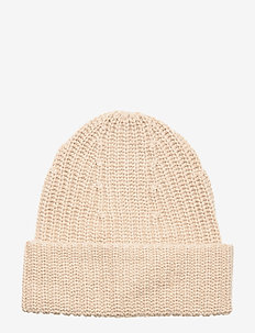 Elisa Recycled Cashmere Beanie - huer - beige