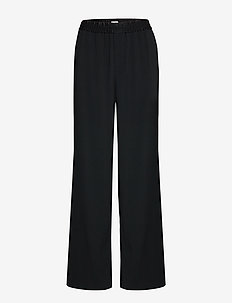 Elsie Trouser - wide leg trousers - black