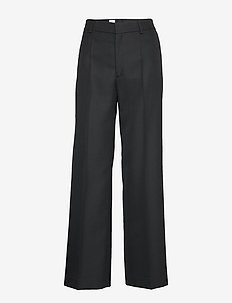 Hutton Suiting Trouser - BLACK