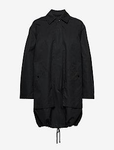 Portland Coat - BLACK