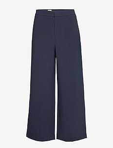 Naia Trouser - wide leg trousers - navy