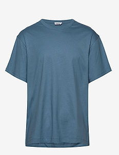 M. Lukas Tee - basic t-shirts - blue heave