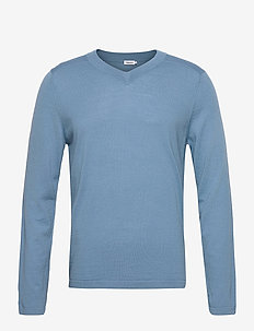 M. Parker Sweater - BLUE HEAVE