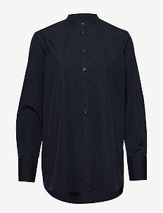 Freddie Shirt - langærmede skjorter - navy