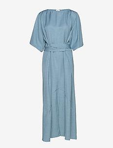 Ella Dress - maxi jurken - blue heave
