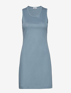 Adelaide Dress - robes courtes - blue heave