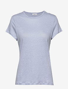 Hazel Tee - basic t-shirts - ice blue